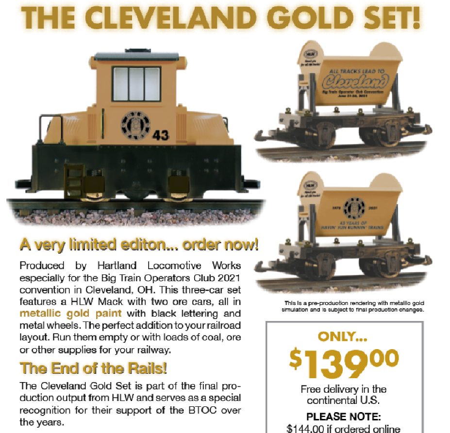 "2021 ""Gold"" USA Convention Set"
